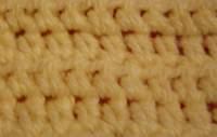 Half double crochet