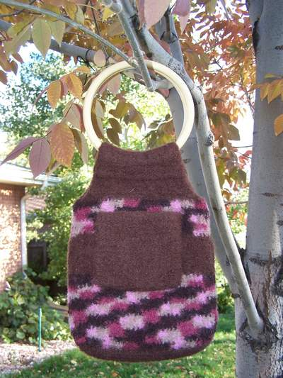 Felted Crochet Bag Pattern