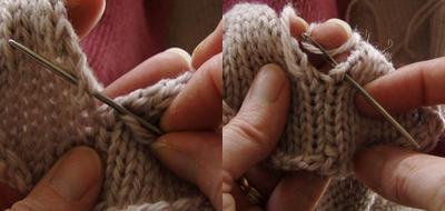 Herringbone Stitch Join Tutorial