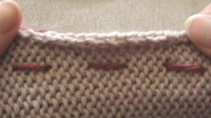 Running stitch or basting
